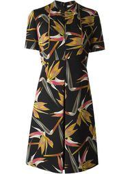 платье с принтом Bird of Paradise  Fendi