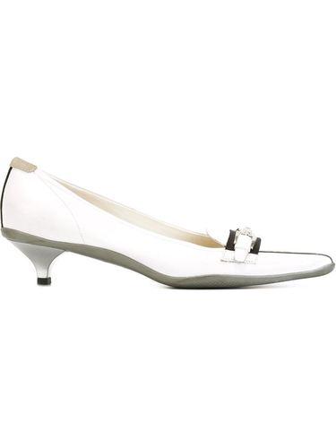 туфли на низком каблуке Prada Vintage