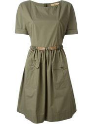 платье с поясом  Fay
