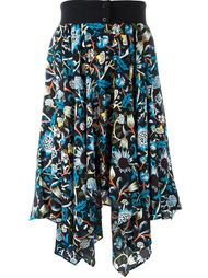 юбка с цветочным узором J.W.Anderson