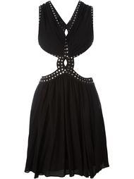 платье с заклепками  Jay Ahr