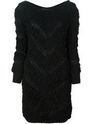 платье мини с узором шеврон Jay Ahr