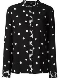 блузка в горошек  Proenza Schouler