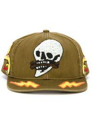 бейсбольная кепка с вышивкой Diesel