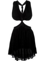 платье с веревочной отделкой  Jay Ahr