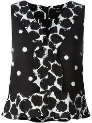 блузка в горох Proenza Schouler
