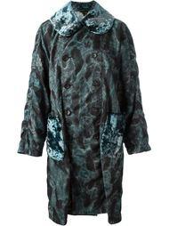 пальто с камуфляжным принтом  Comme Des Garçons