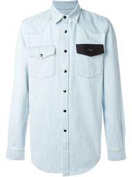 рубашка с накладными карманами Givenchy