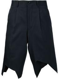 классические шорты с асимметричными краями Comme Des Garçons Homme Plus