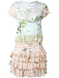 платье с принтом-пейзажем  Piccione.Piccione