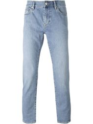 узкие джинсы Burberry Brit