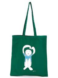 сумка-тоут с принтом-логотипом Société Anonyme