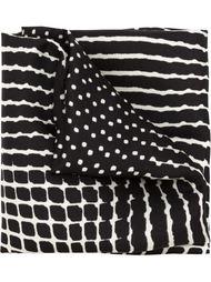 шарф со смешанным принтом Haider Ackermann