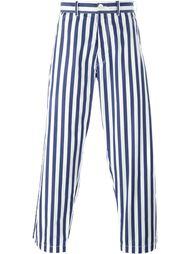 брюки в полоску  Comme Des Garçons Shirt