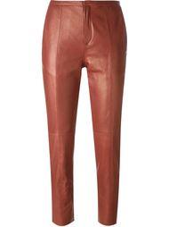 укороченные узкие брюки Forte Forte