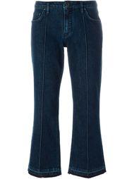 расклешенные джинсы  Victoria Beckham Denim