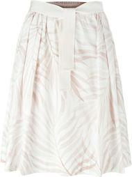 юбка А-образного кроя  с принтом  Woolrich