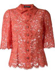 кружевная рубашка  Dolce & Gabbana