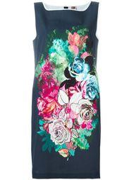 платье с принтом роз  I'M Isola Marras