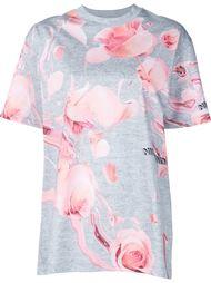 футболка с цветочным принтом Nicopanda