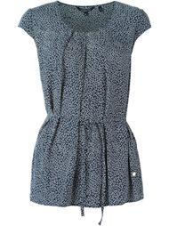 блузка с поясом  Woolrich