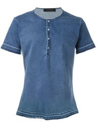 джинсовая футболка  Christian Pellizzari