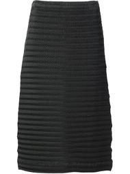 плиссированная юбка Issey Miyake