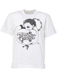 футболка с принтом 'paradise garage' Sacai