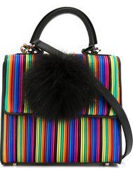 маленькая плиссированная сумка через плечо Les Petits Joueurs