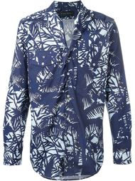 рубашка с абстрактным принтом Christian Pellizzari