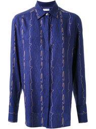 рубашка в мужском стиле с принтом Scanlan Theodore