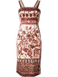 платье на широких лямках Alberta Ferretti