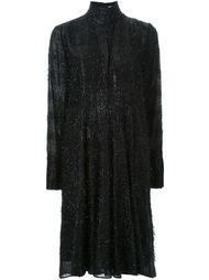 платье с отделкой мишурой Scanlan Theodore