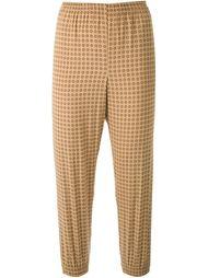 брюки с мелким принтом Scanlan Theodore