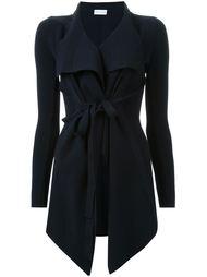 открытый драпированный пиджак с поясом Scanlan Theodore