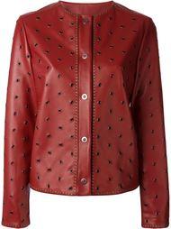 куртка с люверсами Lanvin