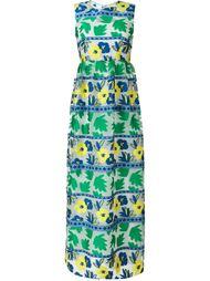 длинное жаккардовое платье P.A.R.O.S.H.