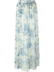 плиссированная юбка с цветочным принтом Philosophy Di Lorenzo Serafini