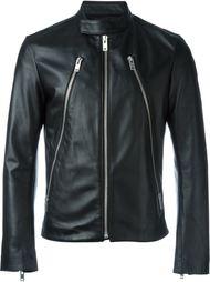стилизованна байкерская куртка  Maison Margiela