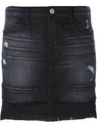 джинсовая мини-юбка J Brand