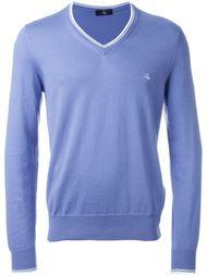 свитер c V-образным вырезом   Fay