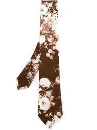 галстук с цветочным принтом Al Duca D'Aosta 1902