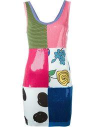 платье с панельным дизайном Jeremy Scott