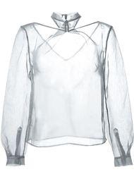 прозрачная блузка  Iris Van Herpen