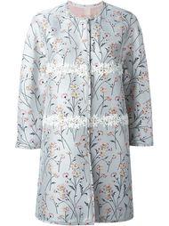 пальто с вышивкой  Giambattista Valli