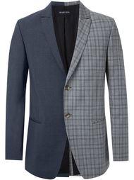 пиджак с контрастными панелями Wan Hung