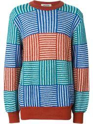 свитер с геометрическим узором  Missoni Vintage