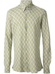 рубашка в клетку Hermès Vintage