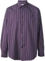 полосатая рубашка Hermès Vintage