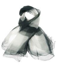 шарф с тонально-градиентным эффектом  Suzusan